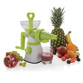 Manual slow juicer, white