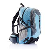 PVC free outdoor backpack, blue